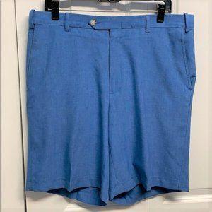 Berle Dress Shorts Size 36 Blue